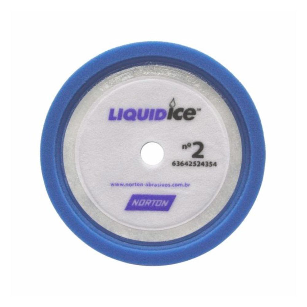 Boina de Espuma Azul 8 Pol Liquid Ice Norton - Tintas MC 29fdb859b9b