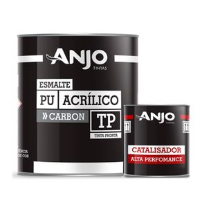 Anjo Esmalte PU Acrílico Branco Malher GM 675ml + Catalisador CT 0117 225ml